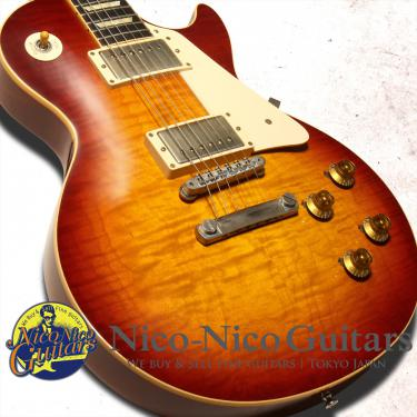 Gibson Custom Shop 2012 Historic 1959 Les Paul VOS Factory Burst (Factory Cherry Sunburst)