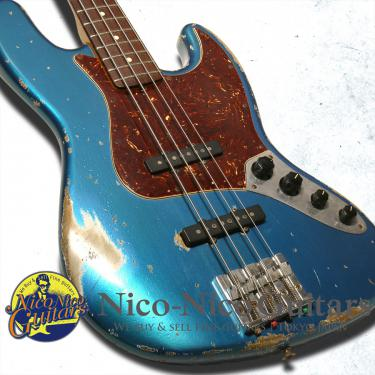 Fender Custom Shop 2007 MBS '61 Jazz Bass Relic Master Built by Jason Smith (Lake Placid Blue)