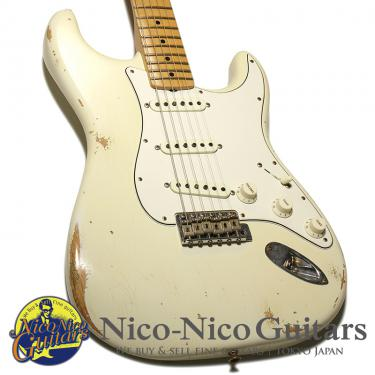 Fender Custom Shop 2018 1968 Stratocaster Relic (Aged Olympic White)