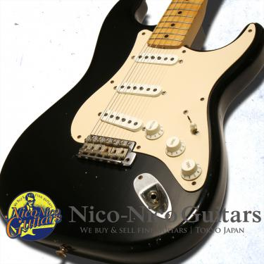 Fender Custom Shop 2004 MBS 1958 Stratocaster Relic Master Built By Greg Fessler (Black)