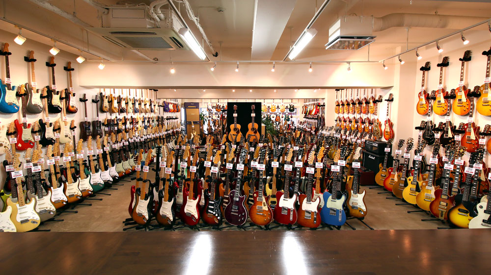 ニコニコギターズ店内写真